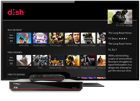 Ondemand TV from DISH | Satellites Unlimited